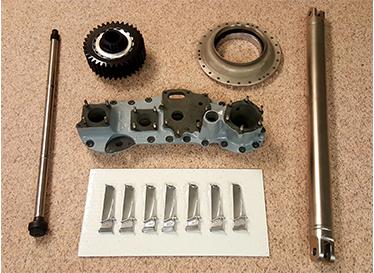 Turbo Tech Repair shot parts